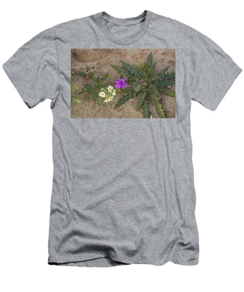 Sand Verbena Sunset Men's T-Shirt (Athletic Fit)