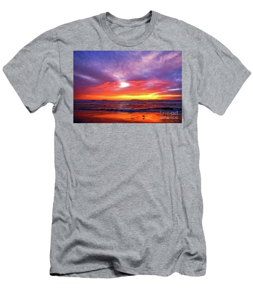 Sandpiper Sunset Ventura California Men's T-Shirt (Athletic Fit)