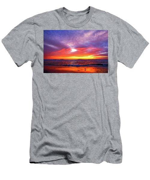 Sandpiper Sunset Ventura California Men's T-Shirt (Athletic Fit)