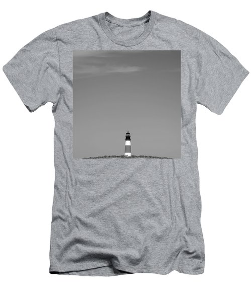 Sankaty Head Lighthouse Nantucket Men's T-Shirt (Athletic Fit)