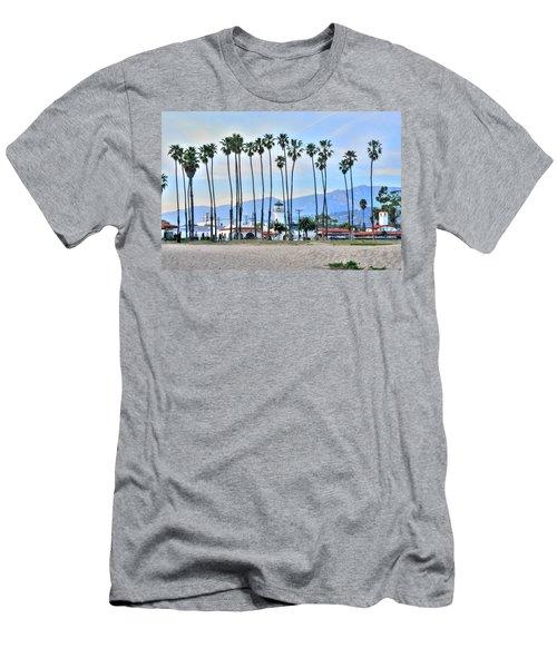 Santa Barbara From The Sea Men's T-Shirt (Athletic Fit)