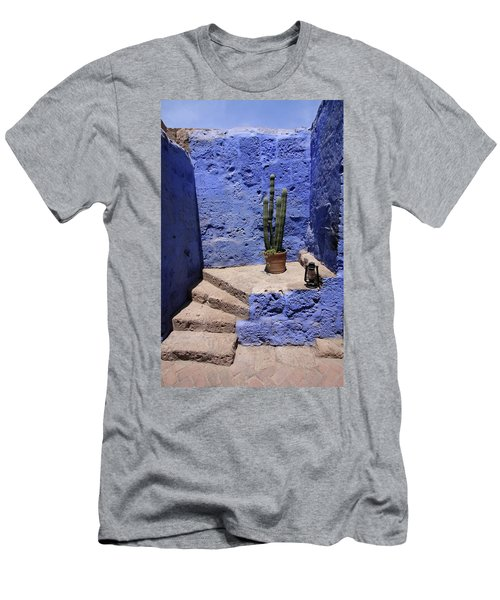 Santa Catalina Monastery Men's T-Shirt (Slim Fit) by Aidan Moran