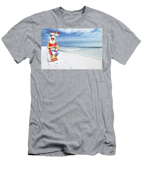 Santa Lifeguard Men's T-Shirt (Athletic Fit)