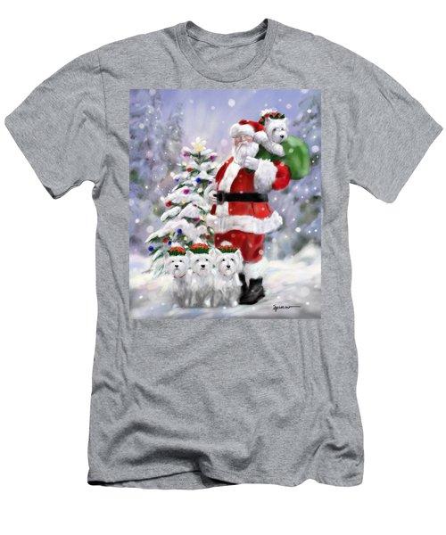 Santa's Helpers Men's T-Shirt (Athletic Fit)