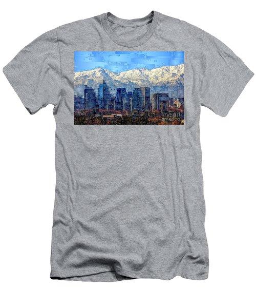 Santiago De Chile, Chile Men's T-Shirt (Athletic Fit)