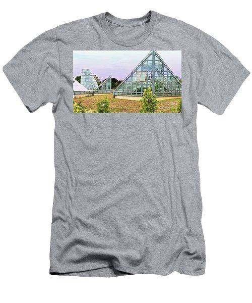 Saolariums At San Antonio Botanical Gardens Men's T-Shirt (Athletic Fit)