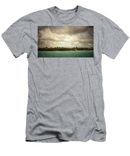 Saona Island , Santo Domingo Men's T-Shirt (Athletic Fit)