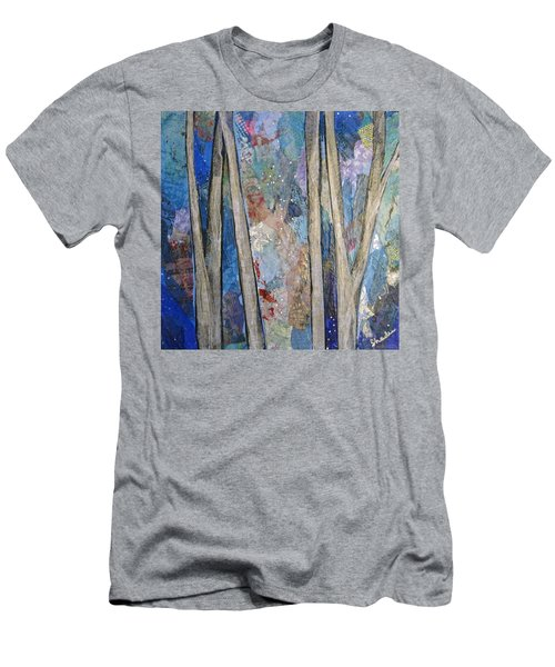 Sapphire Forest I Men's T-Shirt (Athletic Fit)