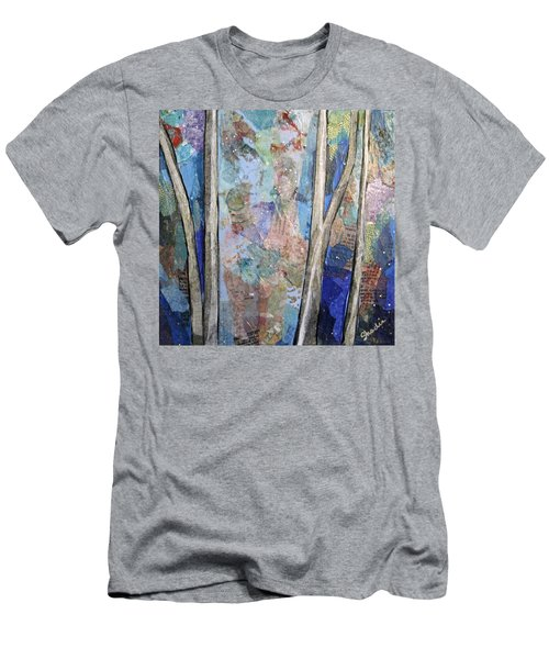 Sapphire Forest II Men's T-Shirt (Athletic Fit)
