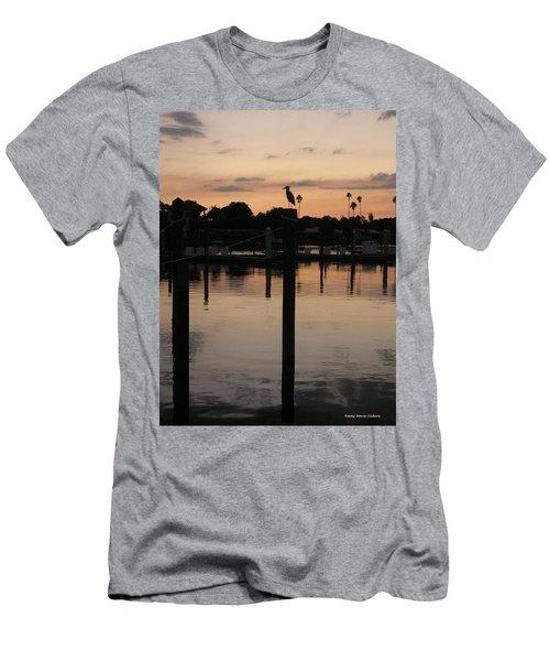 Sarasota Sunset1 Men's T-Shirt (Athletic Fit)