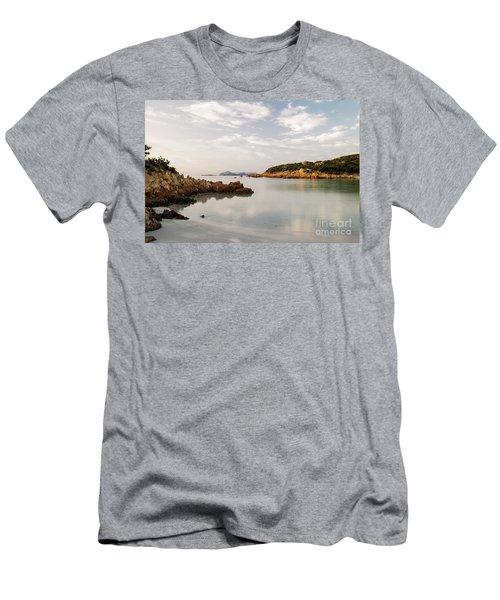 Sardinian Coast I Men's T-Shirt (Slim Fit) by Yuri Santin