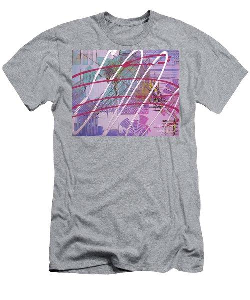 Satellites Men's T-Shirt (Slim Fit) by Melissa Goodrich