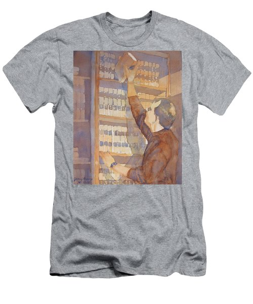 Saturday At The Office Men's T-Shirt (Athletic Fit)