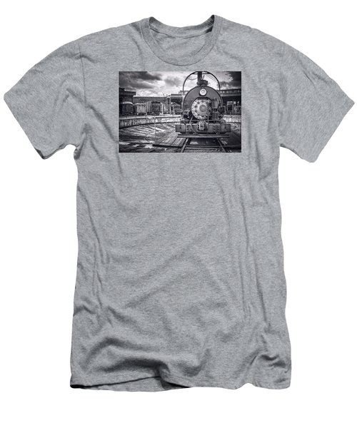 Savannah Central Train Yard Men's T-Shirt (Athletic Fit)