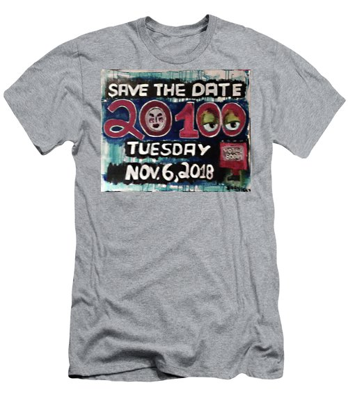 Save The Day Men's T-Shirt (Athletic Fit)