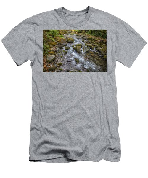 Savegre River - Costa Rica 2 Men's T-Shirt (Athletic Fit)