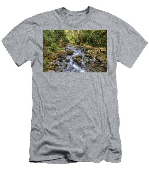 Savegre River - Costa Rica Men's T-Shirt (Athletic Fit)