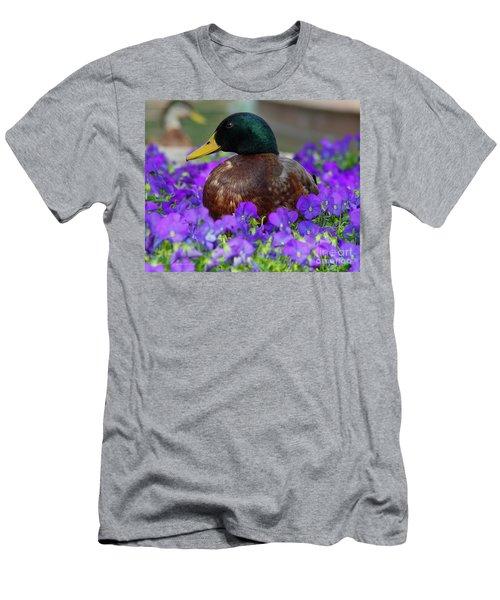 Say Quack Men's T-Shirt (Athletic Fit)