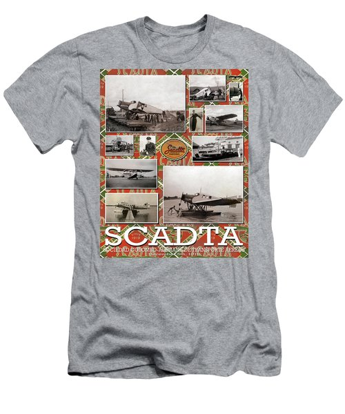 Scadta Airline Poster Men's T-Shirt (Athletic Fit)