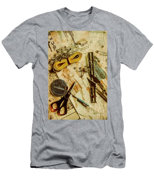 Scene From A Fifties Craft Room Men's T-Shirt (Athletic Fit)