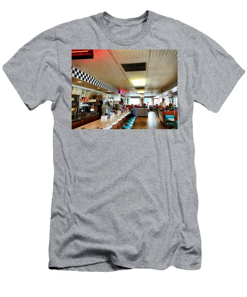 Scenes From A Diner Men's T-Shirt (Athletic Fit)
