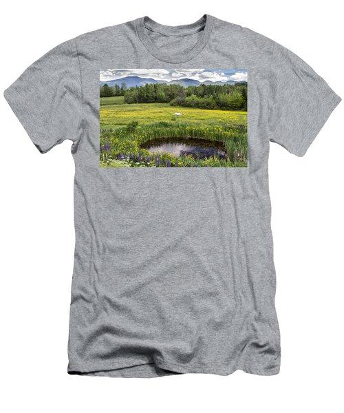 Scenic Pasture Men's T-Shirt (Athletic Fit)