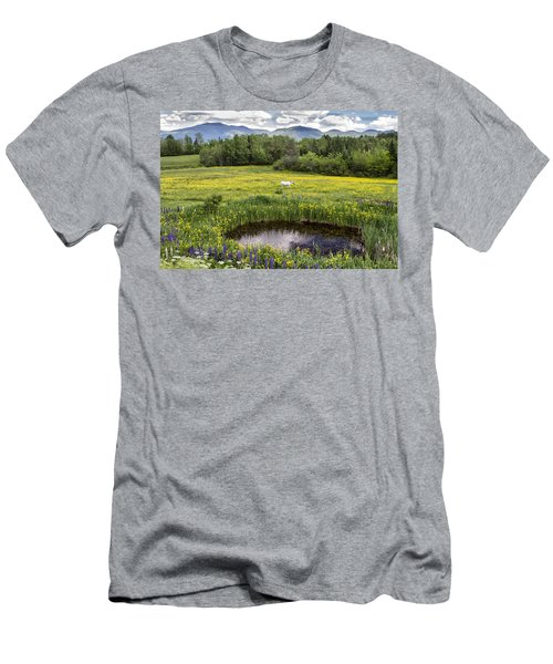Scenic Pasture Men's T-Shirt (Athletic Fit)