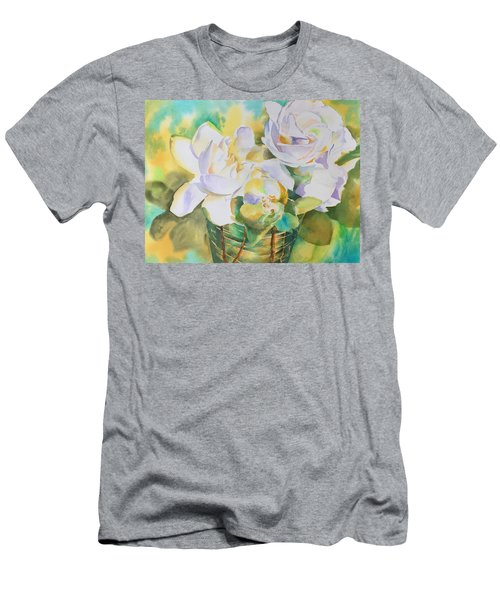 Scent Of Gardenias  Men's T-Shirt (Athletic Fit)