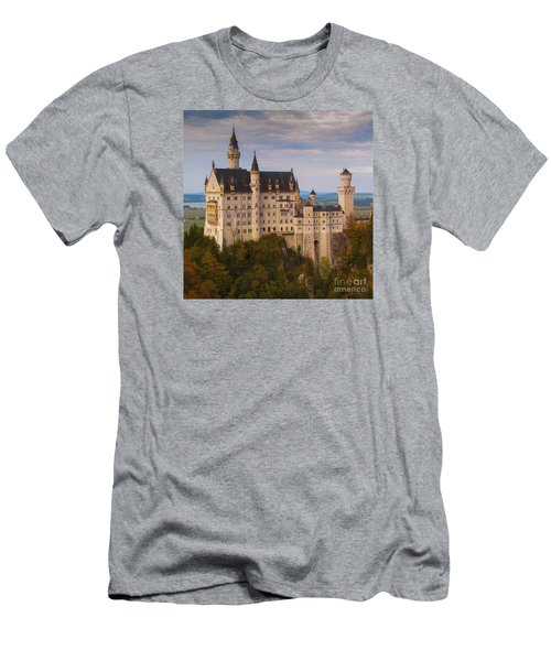 Schloss Neuschwanstein Men's T-Shirt (Slim Fit) by Franziskus Pfleghart