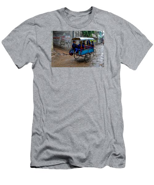 Men's T-Shirt (Athletic Fit) featuring the photograph School Cart by M G Whittingham