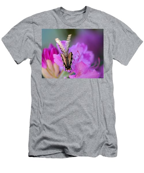 Men's T-Shirt (Slim Fit) featuring the photograph Scissorwings by Susan Capuano