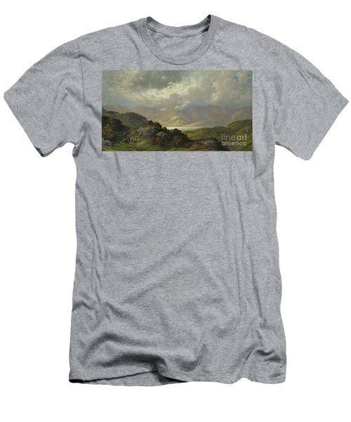 Scottish Landscape Men's T-Shirt (Athletic Fit)