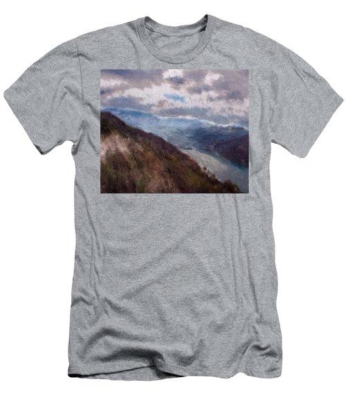 Scottish Landscape Men's T-Shirt (Athletic Fit)