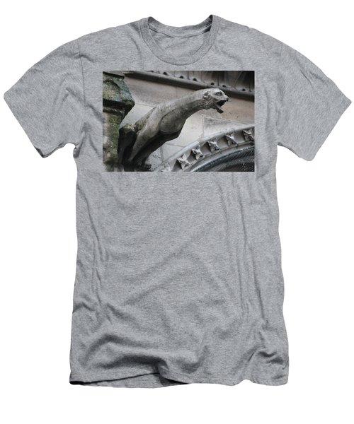 Screaming Griffon Notre Dame Paris Men's T-Shirt (Athletic Fit)