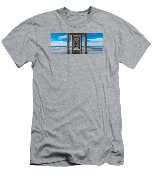 Scripps Pier La Jolla California Men's T-Shirt (Athletic Fit)