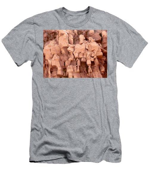 Sculpted Rocks Men's T-Shirt (Athletic Fit)