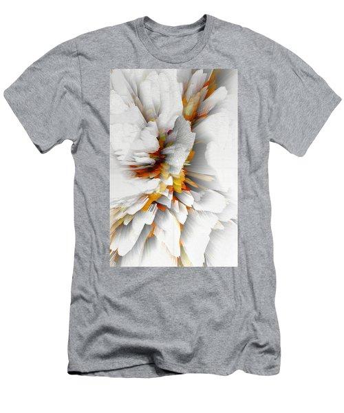 Men's T-Shirt (Athletic Fit) featuring the digital art Sculptural Series Digital Painting 22.120210 by Kris Haas