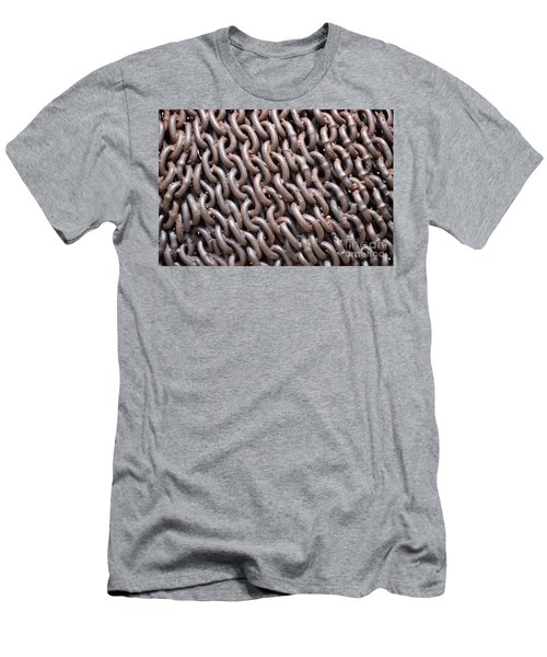 Sculpture Of Chain Men's T-Shirt (Athletic Fit)