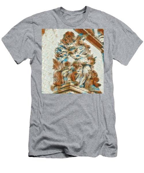 Sculpture - Paris France - Arc De Triomphe Men's T-Shirt (Athletic Fit)