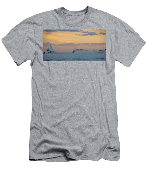Sd Sumset 1 Men's T-Shirt (Athletic Fit)