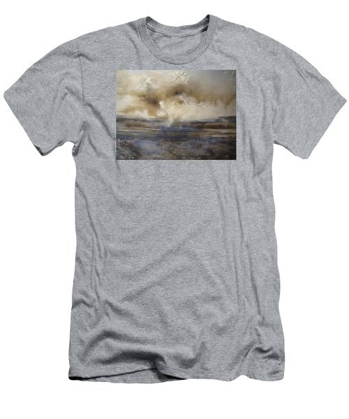 Men's T-Shirt (Slim Fit) featuring the painting Sea Breeze by Tamara Bettencourt