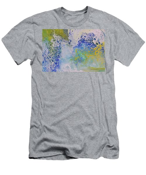 Sea Foam Men's T-Shirt (Athletic Fit)