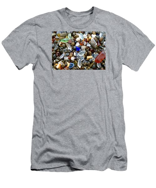 Sea Glass Beauty Men's T-Shirt (Slim Fit) by Amelia Racca