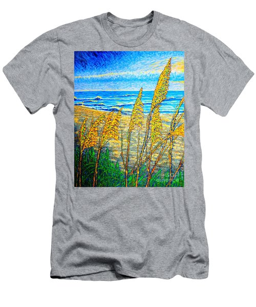 Sea Oat,dual #1 Men's T-Shirt (Athletic Fit)