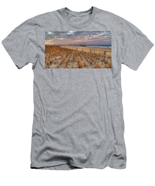 Sea Oats Men's T-Shirt (Athletic Fit)