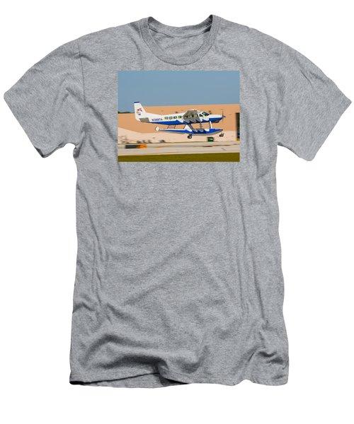 Sea Plane Men's T-Shirt (Athletic Fit)