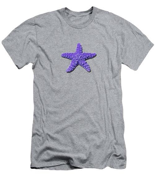 Sea Star Purple .png Men's T-Shirt (Athletic Fit)