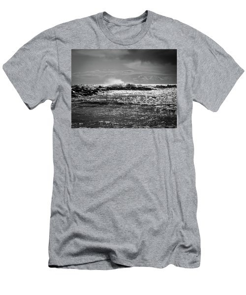 Sea Storm Men's T-Shirt (Athletic Fit)