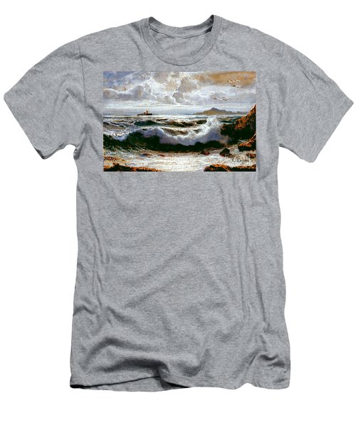Sea Storm Men's T-Shirt (Athletic Fit)