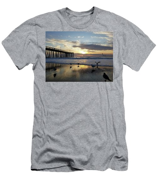 Seagulls And Salty Air Men's T-Shirt (Athletic Fit)